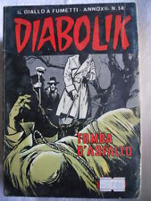 DIABOLIK anno XII n°14  [G312]