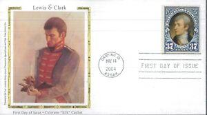 2004 Orofino Indiana Lewis & Clark Colorano Silk Cachet First Day Cover