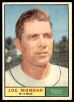 1961 Topps Set Break Nm+ Joe Morgan Cleveland Indians #511
