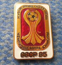 FIFA WORLD CHAMPIONSHIP JUNIORS FOOTBALL FUSSBALL SOCCER RUSSIA 1985 PIN BADGE