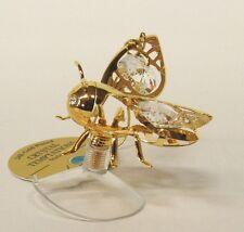 3261-sc Hummel bumble-bee Swarovski Kristall 24 Karat Gold Crystal Strass 66mm