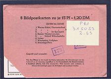 P 81   22. Auflage 8 Ganzsachen im Originalumschlag ungeöffnet !!!!!~⓰
