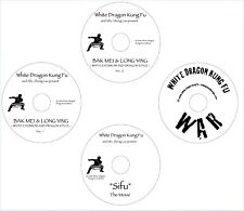 3 Dvd Set - Bak Mei * Lung Ying Kung w/ Master Zhong Luo + Bonus Dvd
