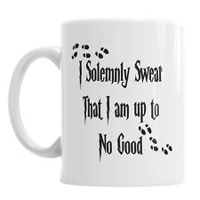 I Solemnly Swear That I Am Up To No Good Harry Potter Hogwarts Novelty Mug