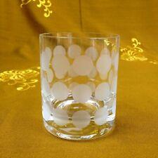 "Whisky Glas Pot Ingrid Glas ""Polka Dots"" Kurt Wokan 70.J Design Klassiker Ø 7 cm"
