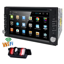 New listing Android Os 4G WiFi Double 2Din Car Radio Stereo Dvd Player Gps Navi +Camera