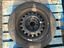 Mercedes-Benz W124 84-95 E-Klasse Stahl Rad Reifen 15 Zoll 195/65R15 081711 rot