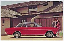 1969 Ford FALCON FUTURA Sport Coupe Original Dealer Promo Postcard UNUSED VG+ ^