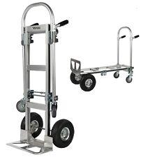 Vergo Industrial As7a Aluminum Convertible 800lb Capacity Hand Truck Dolly Cart