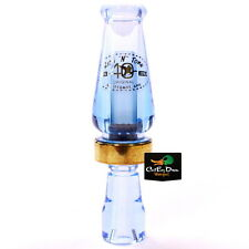 Rnt Rich-N-Tone 40Th Anniversary Original Mallard Hen Duck Call Ice Blue Acrylic