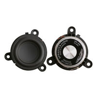 2Pcs 1.75 Inch Midrange Speaker Rubber Side DIY Portable 4 Ohm 60W Loudspeaker