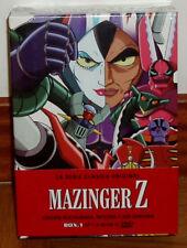 MAZINGER Z LA SERIE CLASICA ORIGINAL BOX.1 NUEVO PRECINTADO 12 DVD (SIN ABRIR)R2