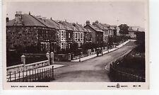 SOUTH BEACH ROAD, ARDROSSAN: Ayrshire postcard (C8083)