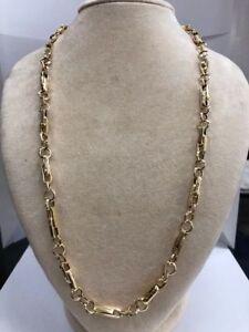 Esclusivo girocollo collana uomo oro 750 - Exclusive gold choker necklace man
