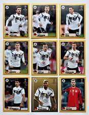 Panini coupe du monde 2018 RUSSIE-LOT 9 AUTOCOLLANTS McDonalds Mc Donalds allemand rare