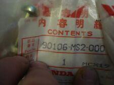 Honda CBR 1100 XX CB1000 90106-MS2-000 FAIRING/MIRROR BOLT SPECIAL (6X25) N.O.S