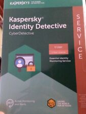 Kaspersky Identity Detective Service 1user/1year License Free Ship or E-delivery