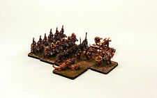 15mm Fantasy HOTT 24AP Army HOTT1020 Orc Tribe Unpainted - Resin Element Bases