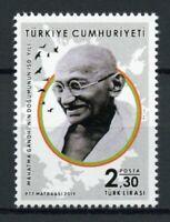 Turkey Mahatma Gandhi Stamps 2019 MNH Historical Figures Famous People 1v Set