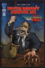 War Tribe Comics Death Doesn't Deserve Me #1 SIGNED Writer / Artist Clint Hagler