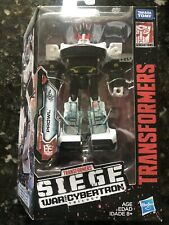 New listing Transformers Siege Prowl 2018 Deluxe Class War For Cybertron Figure New Mib