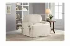 Serta T-Cushion Armchair Slipcover. Color: White. Size: 32 x 43