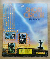 Panini SHORT CIRCUIT Sticker Album + Poster - Full / Complete - 1987