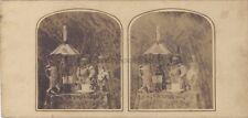 Nature Morte Photo Artistique Stereo Vintage albumine ca 1860