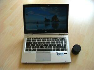 "HP EliteBook 8470p Intel Core i5 2,6 GHz 14,1"" 160 GB FP win 10pro!"