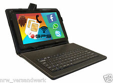 10 ZOLL TABLET PC QUAD CORE 4x 1,5Ghz ★32GB★ ANDROID 2x SIM SLOT 2GB Schwarz