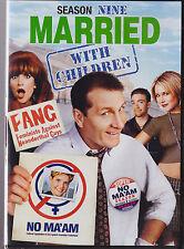 MARRIED WITH CHILDREN (UNCUT) SEASON 9 (DVD,2015,2-Disc Set, Slim Line Case) NEW