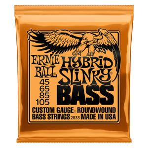 Ernie Ball 2833 Hybrid Slinky 4-String Bass Strings 45-105