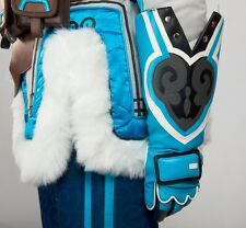 2017 New OW Overwatch Mei Cosplay Costume Blue Gloves Only