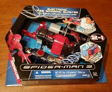 Hasbro '07 Spider-Man 3 Electronic Web Spinning Blaster 2 IN 1 Brand New Sealed
