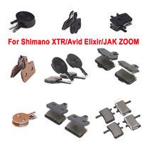1/2Pairs Bike Bicycle Disc Brake Pads for Shimano XTR M985/Avid BB7 BB5/JAK ZOOM