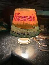 "Vintage Hamm'S Beer Heat Motion Lamp 10"""