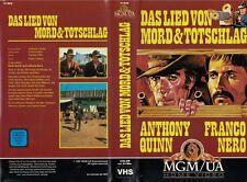 Das Lied von Mord und Totschlag -  Anthony Quinn - Franco Nero - MGM Video