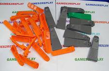 32 X LEGO BRICK SEPERATOR TOOL ORANGE, DARK GREY & GREEN