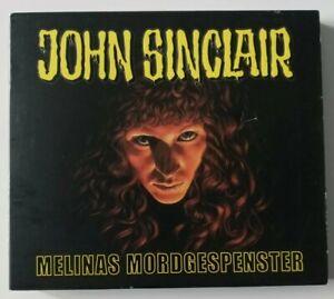 """Hörbuch / Hörspiel """" JOHN SINCLAIR Melinas Mordgespenter """" 2 CD  limited Edition"""