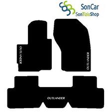 MITSUBISHI OUTLANDER DAL05 5 PLACES TAPIS auto arrière unis+ 4blocs + 3 décors