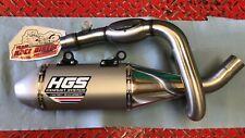 HGS Auspuff Excaust System KTM Husqvarna SXF FC 250 350 450 Motocross Kompl. Anl