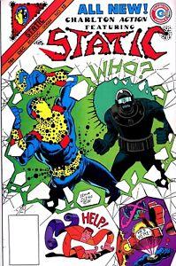 Static #12 - 1985 Steve Ditko -Charlton Comics-NICE!!! NO RESERVE!!!