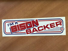 Buffalo Bisons Baseball Bumper Sticker 1985