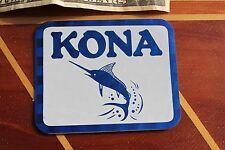 KONA Hawaii Vintage 1980's Prism 3D Fish Fishing Honolulu Kauai 3x4in. Sticker