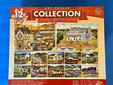 ART POULIN COLLECTION 12 Jigsaw Puzzles~100~300~500 pcs~ Used
