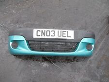 2003 DAEWOO MATIZ SE 5DR FRONT BUMPER AND GRILL COMPLETE BLUE