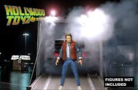 Back to the Future NECA Marty McFly Twin Pines Mall Diorama Backdrop No Figure
