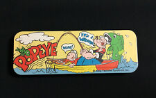 """New Listing""""Popeye� Tin Metal Slide Pen Pencil Case, King Features Syndicate Inc"""