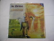 LE ORME - ELEMENTI - LP REISSUE VINYL NEW SEALED 2017 LTD. ED. COPY # 387/600
