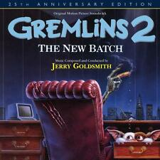 gremlins 2 cd deluxe edition sealed  jerry goldsmith OOP